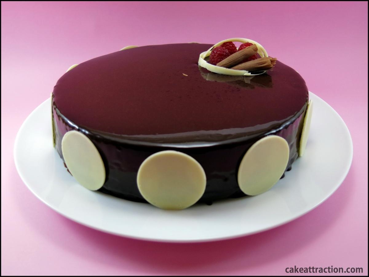 Tarta Chocolate Espejo