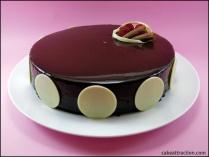 Tarta de Chocolate Espejo