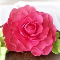 Flor de pasta de Goma