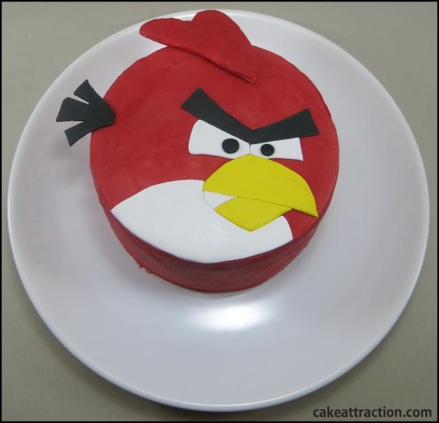 angry bird cake2