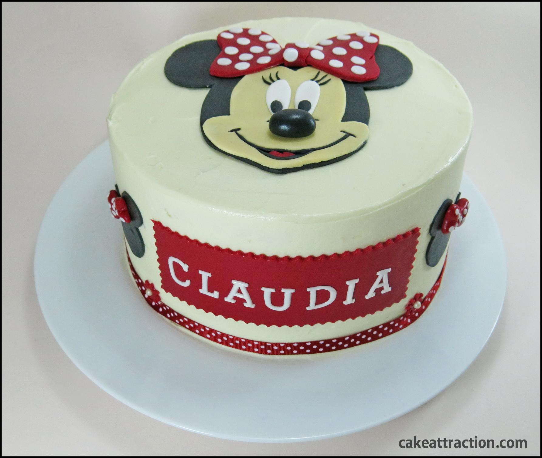 Pastel de Minnie Mouse | CAKE ATTRACTION