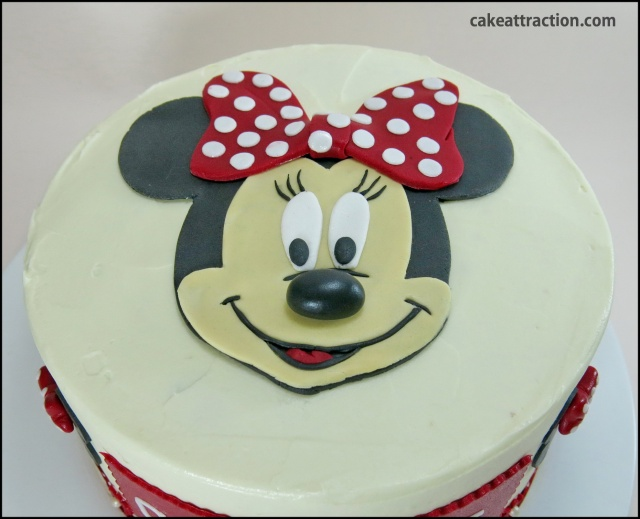 Tarta Minnie 25