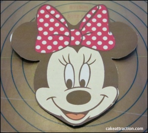 Tarta Minnie 8