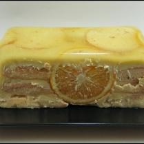 Tarta Refrescante de Naranja