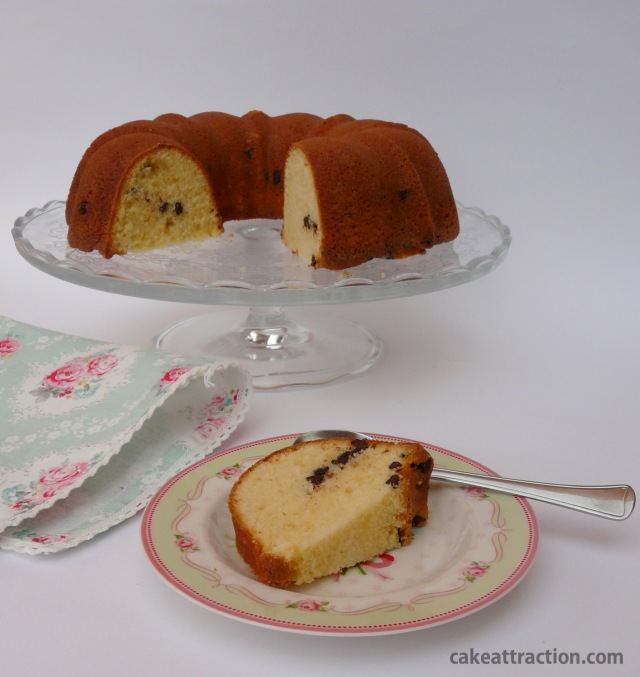 Bundt Vainilla y Chocolate 9
