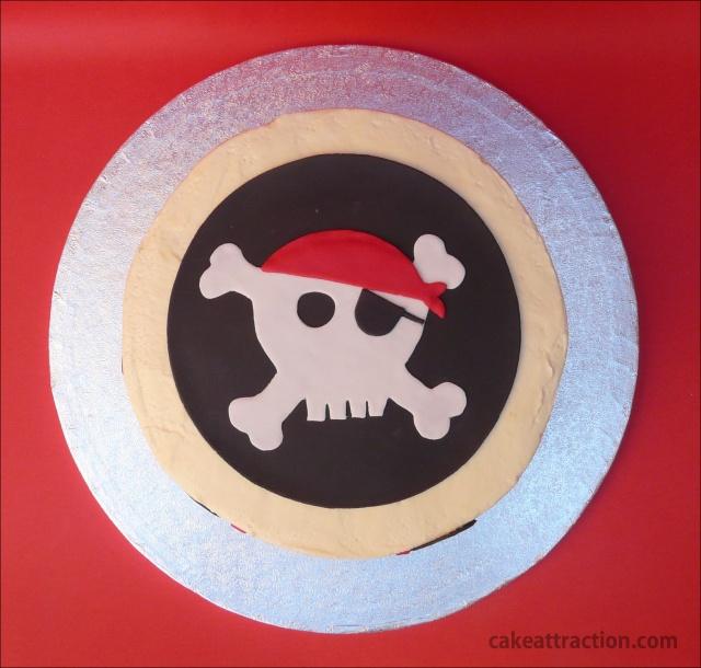 Tarta Piratas 10