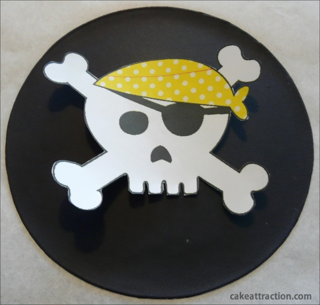 Tarta Piratas 4