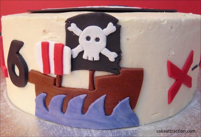 Tarta Piratas 6