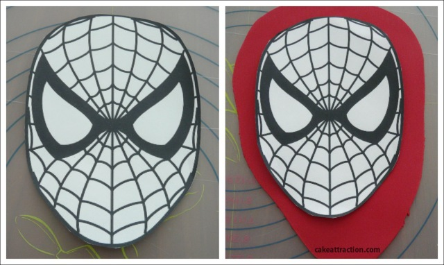 Tarta Spiderman 1