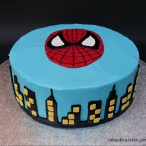 Tarta Spiderman 13