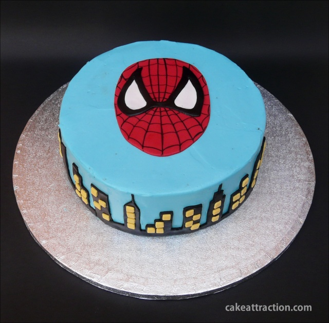 Tarta Spiderman 14