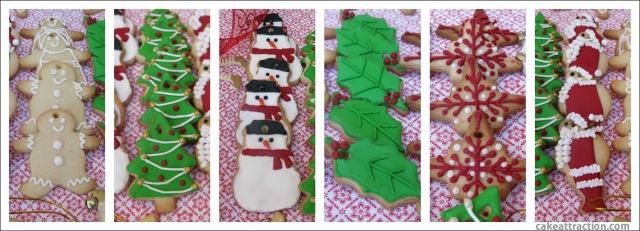Galletas Navidad Glasa 10