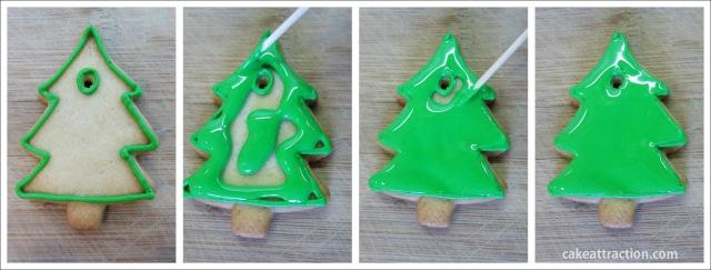 Galletas Navidad Glasa 5