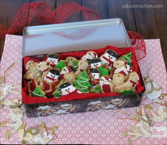 Galletas Navidad Glasa 7
