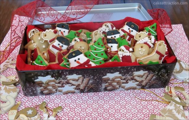 Galletas Navidad Glasa 8