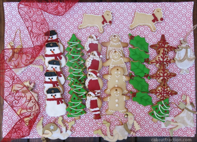 Galletas Navidad Glasa 9
