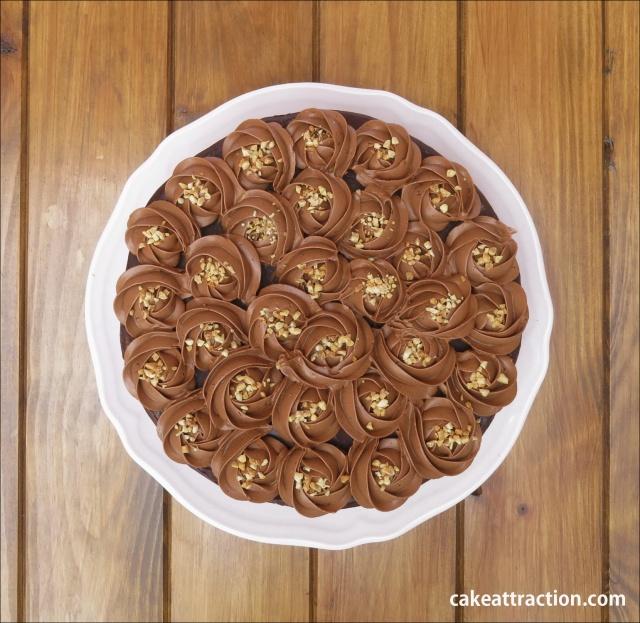 Tarta Moka y Chocolate 4