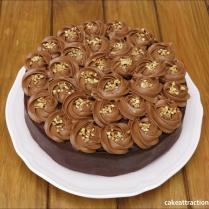 Tarta Moka y Chocolate 5