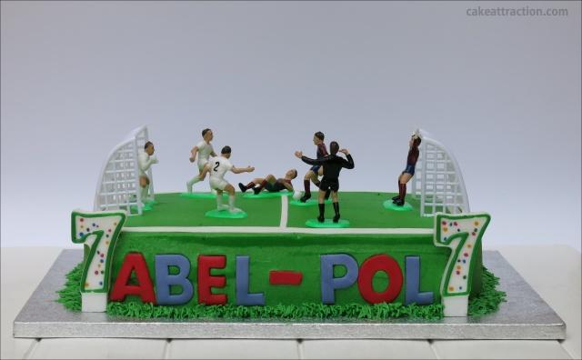 Tarta futbol 8