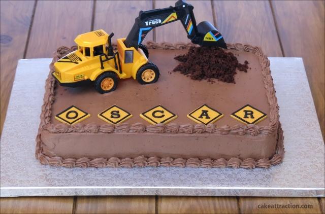 Tarta excavadora 2