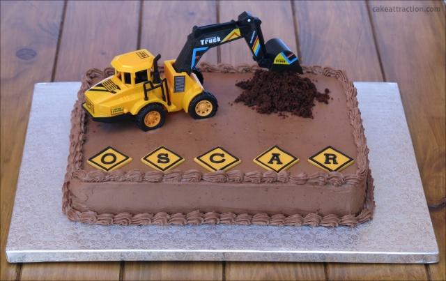 Tarta excavadora 3