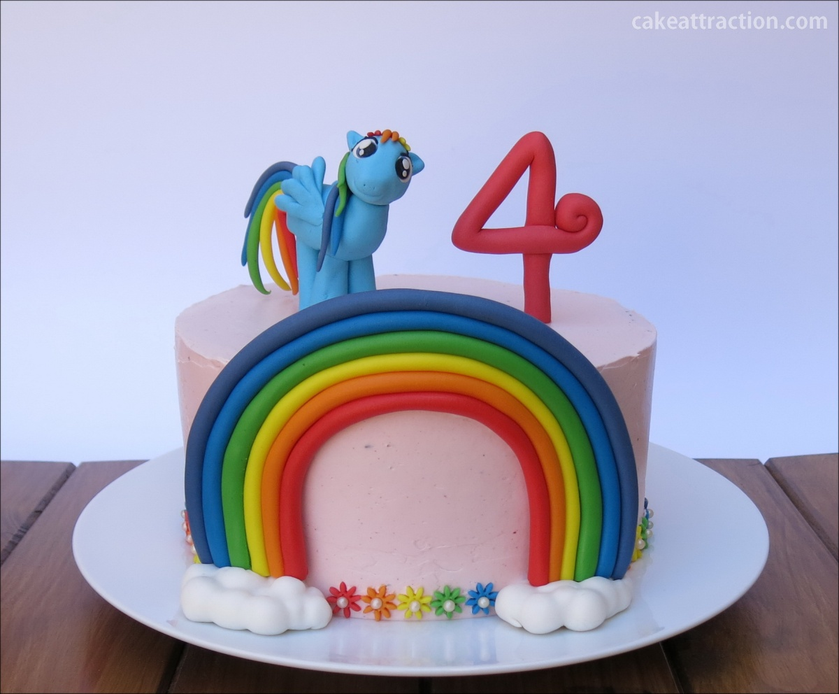 Tarta My Little Pony (Rainbow Dash)